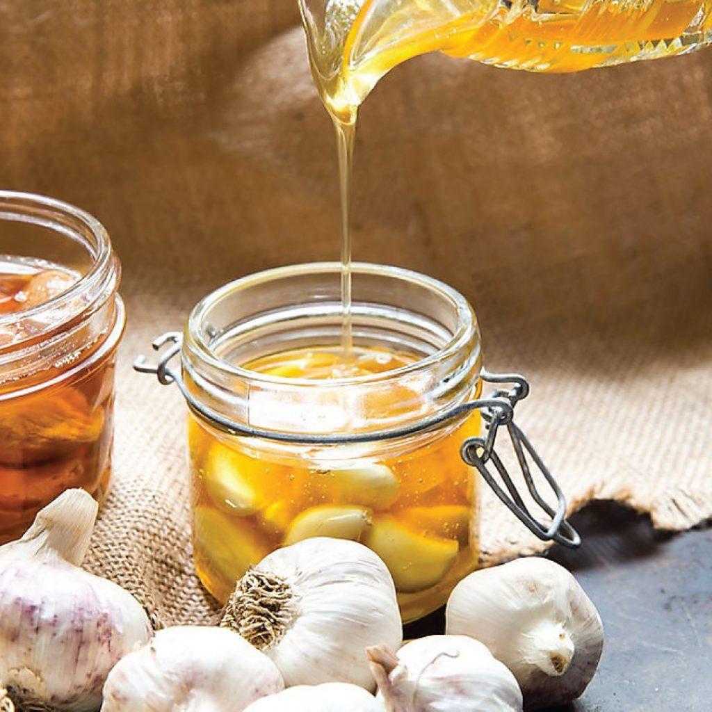 วิธีทำกระเทียมโทนดองน้ำผึ้ง